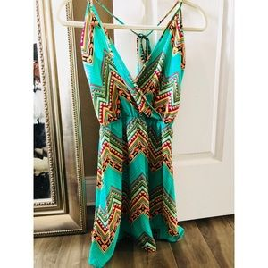 Dresses - Chevron Dress